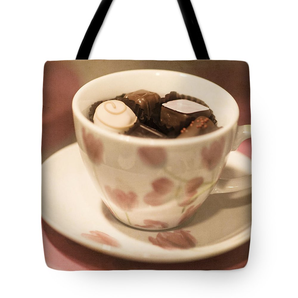 Beautiful Tote Bag featuring the photograph Cup Of Chocolate by Juli Scalzi