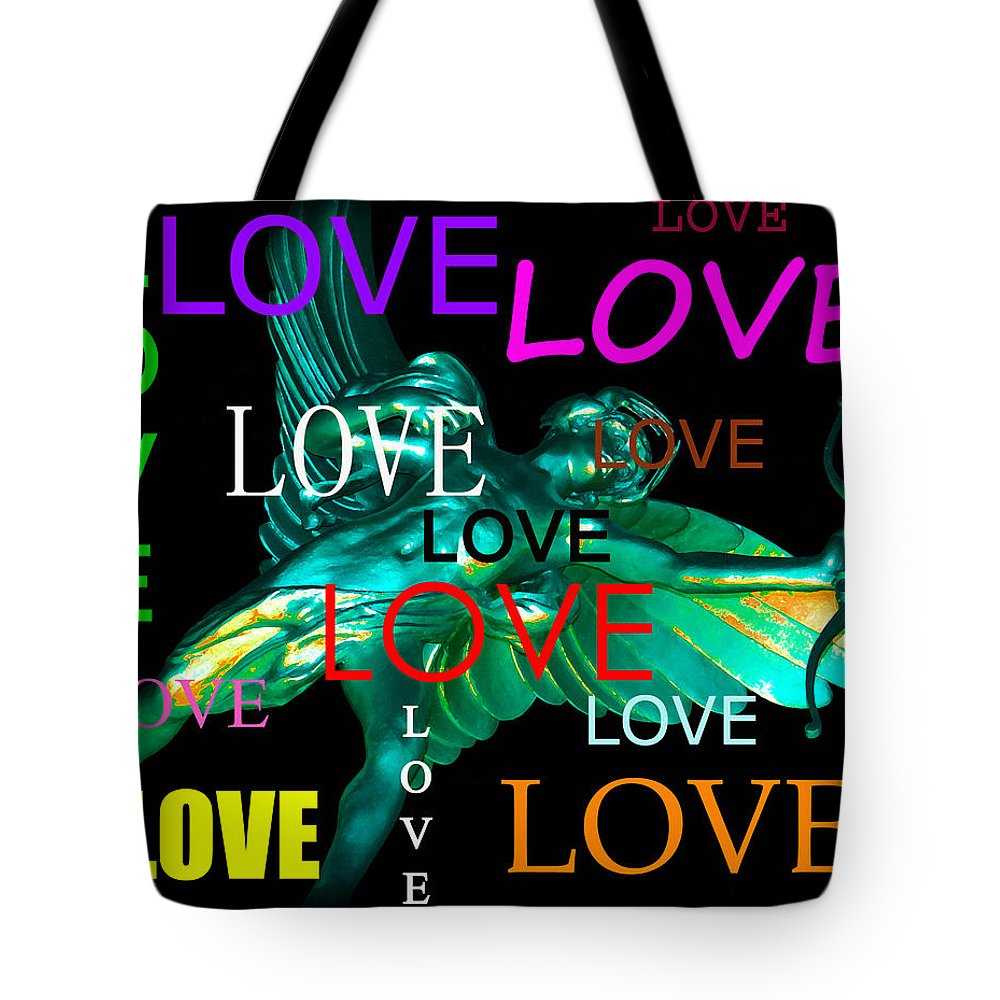 Cupid Tote Bag featuring the photograph Cupids Love by David Lee Thompson