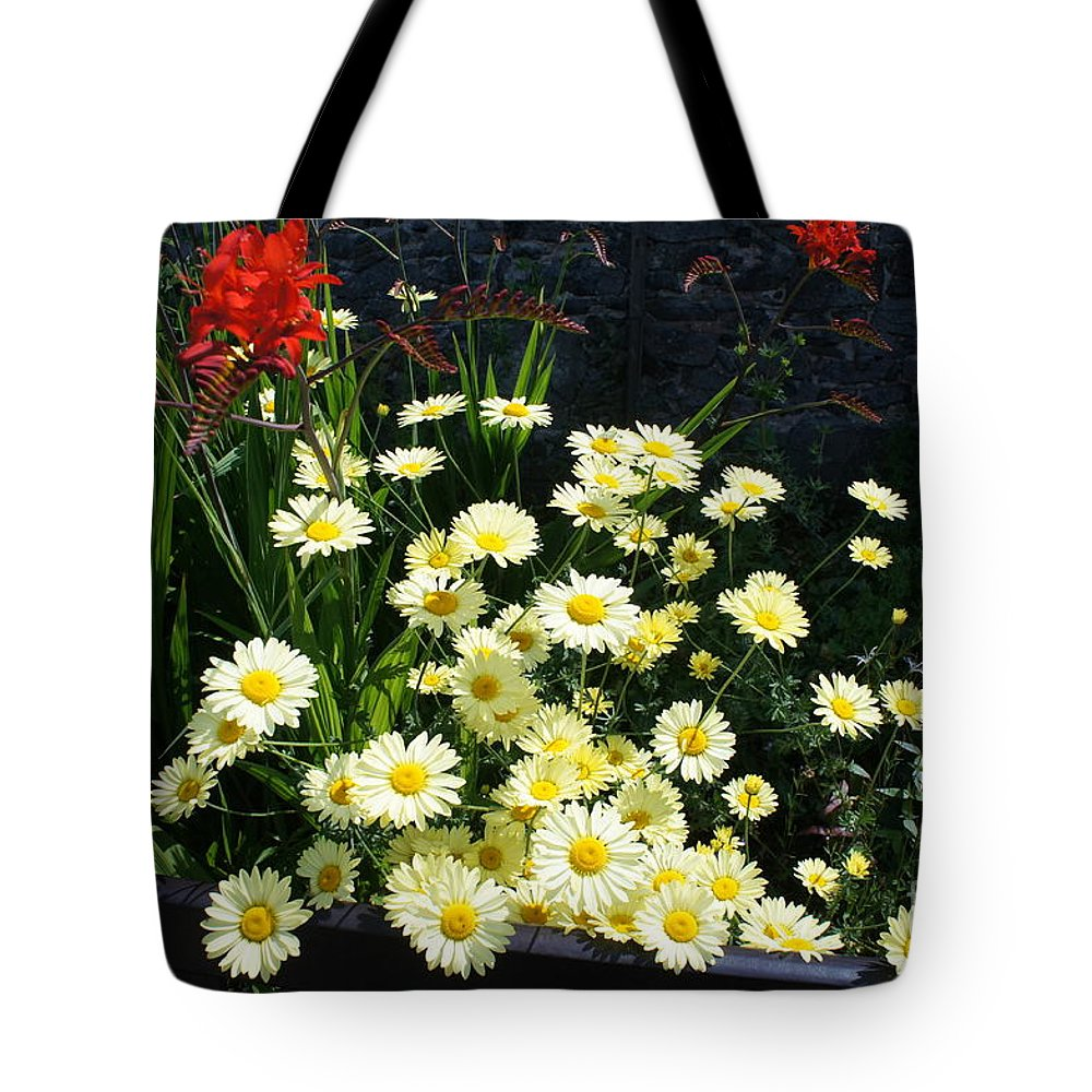 Floral Tote Bag featuring the photograph Curiosity by Elena Perelman
