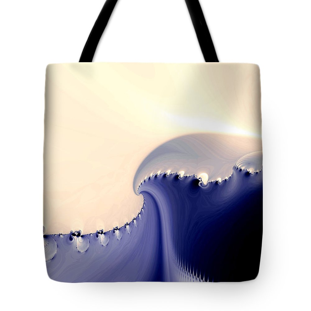 Fine Art Tote Bag featuring the photograph Current by Kevin Trow
