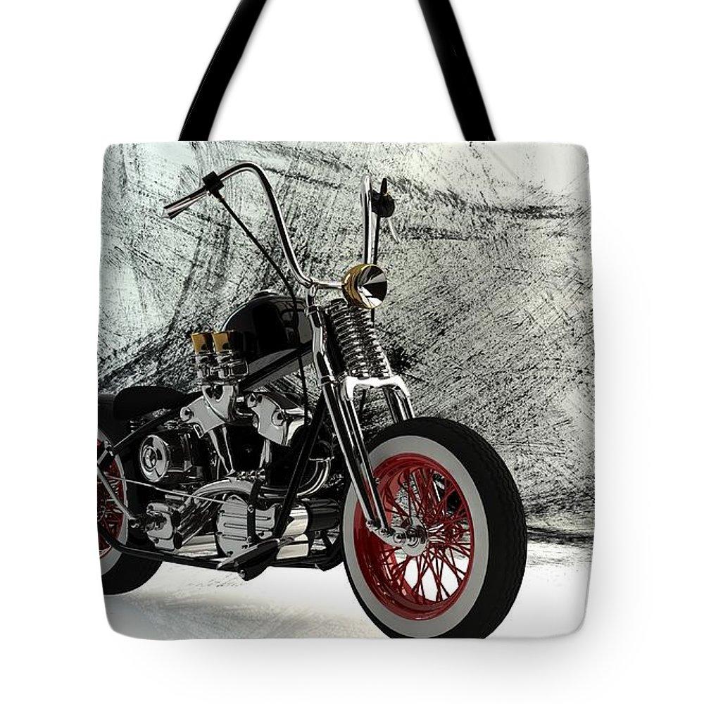 Bobber Tote Bag featuring the digital art Custom Bobber by Louis Ferreira