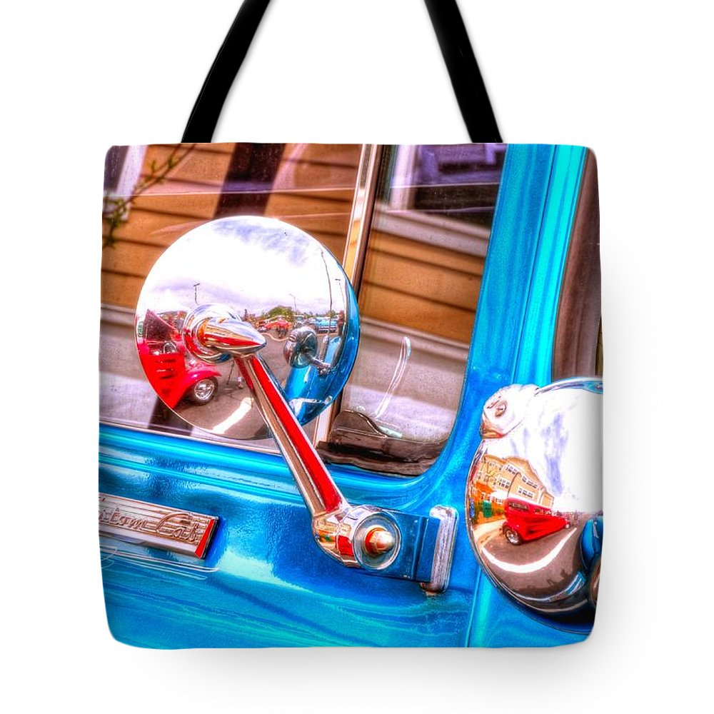 Car Tote Bag featuring the photograph Custom Cab 14854 by Jerry Sodorff
