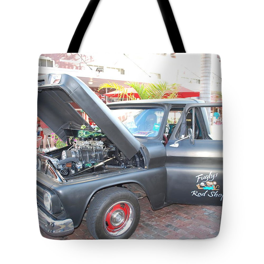 Downtown Ft.myers Tote Bag featuring the photograph Custom Pickup Truck by Robert Floyd