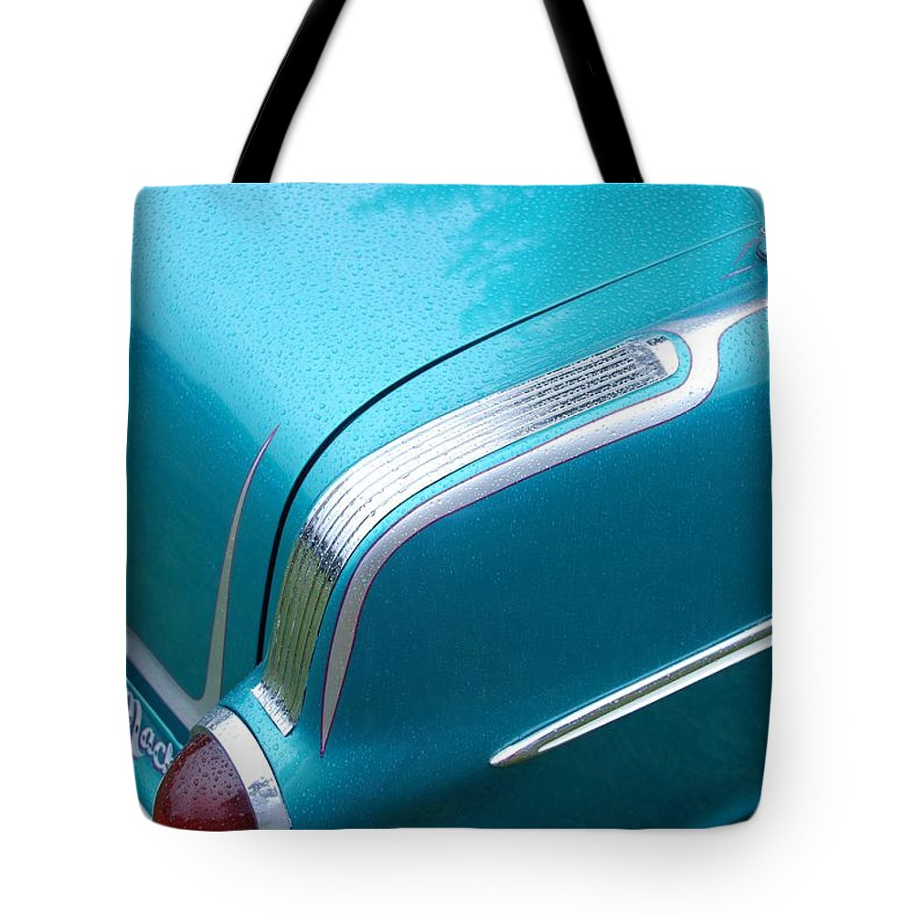 Automobiles Tote Bag featuring the photograph Custom Touches by John Schneider