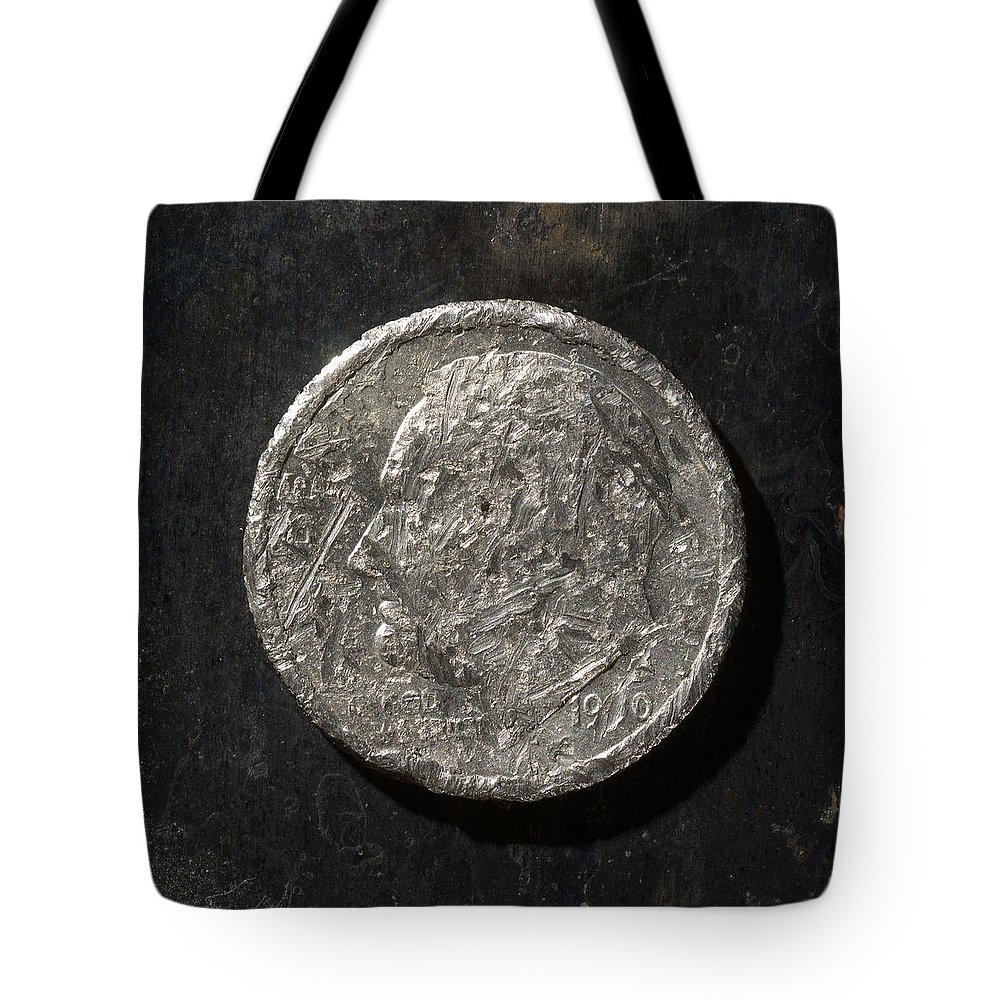 Americana Tote Bag featuring the photograph D 1990 A H by Robert Mollett