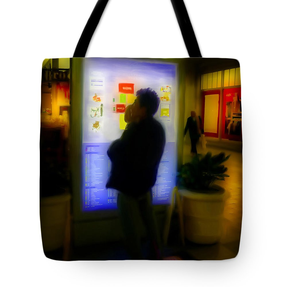 Mall Tote Bag featuring the photograph Daddy And Me by Jeff Breiman