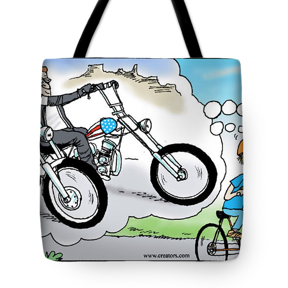 Daddys Home Tote Bag featuring the painting Daddy's Home Father And Son Dream by Tony Rubino