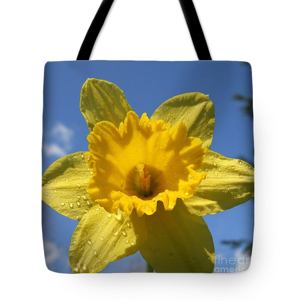 Wildflower Tote Bag featuring the photograph Daffodil Days by Neal Eslinger