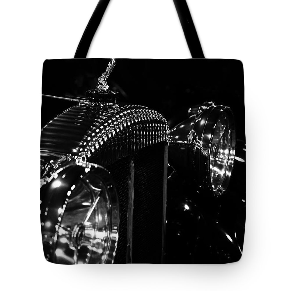 1931 Daimler Tote Bag featuring the photograph Daimler by Dennis Hedberg