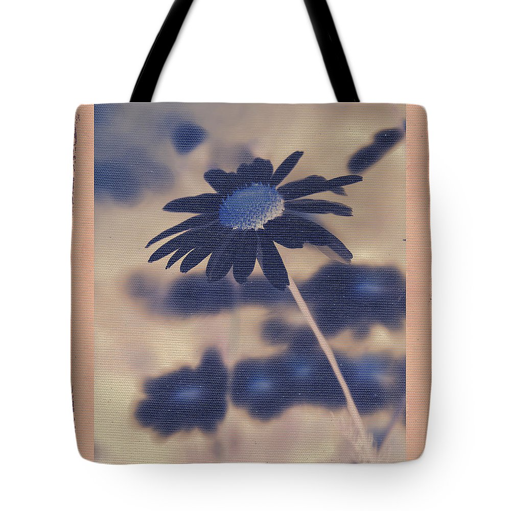 Daisies Tote Bag featuring the photograph Daisies ... Again - 150ab by Variance Collections