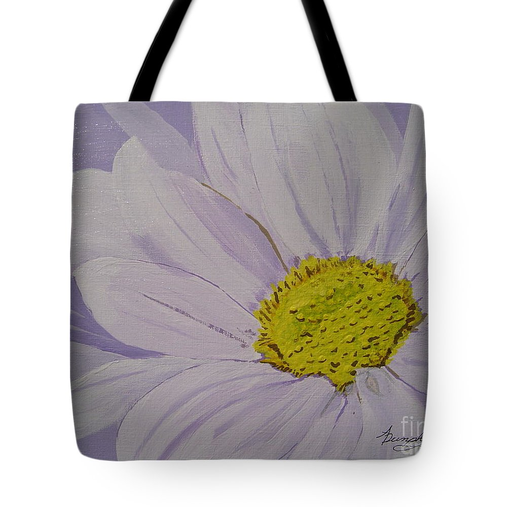 Daisy Tote Bag featuring the painting Daisy by Anthony Dunphy