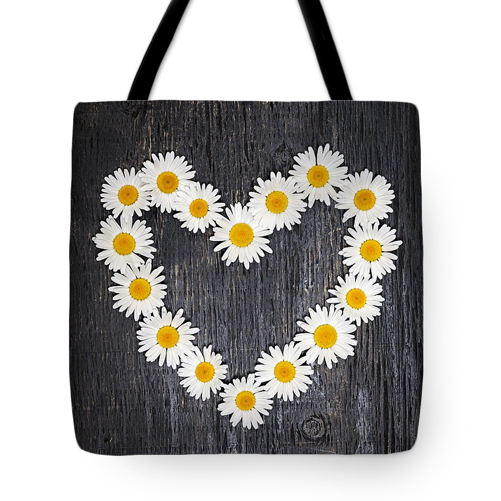 Common Daisy Tote Bags