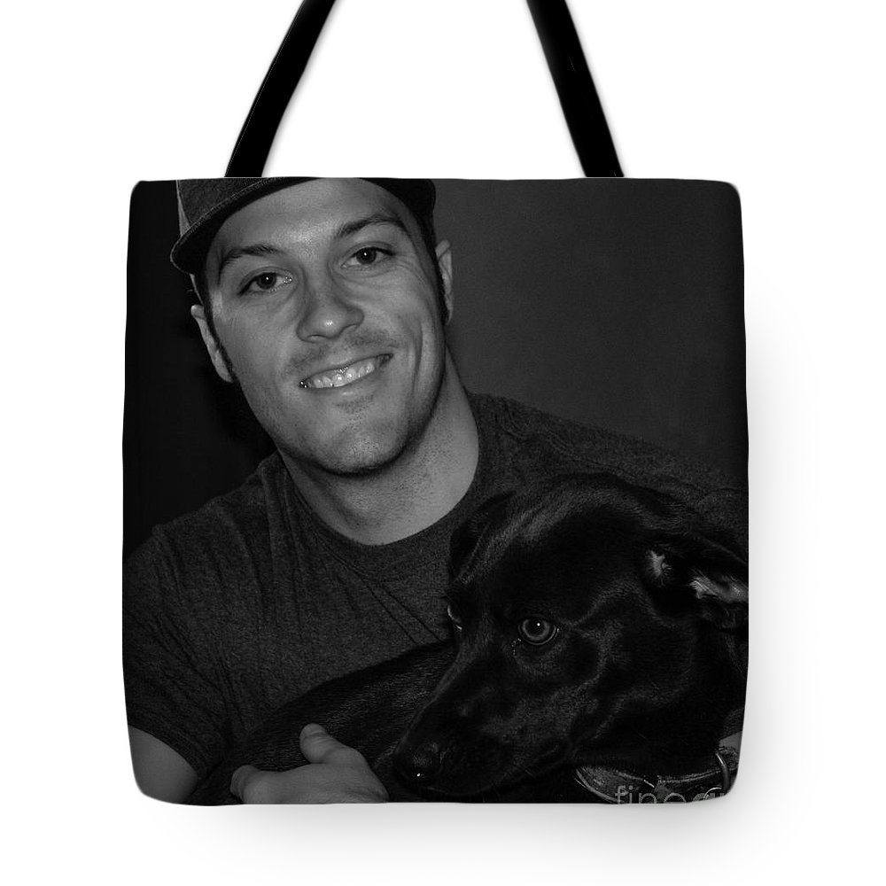 People Tote Bag featuring the photograph Dakota And Her Boy by Toma Caul