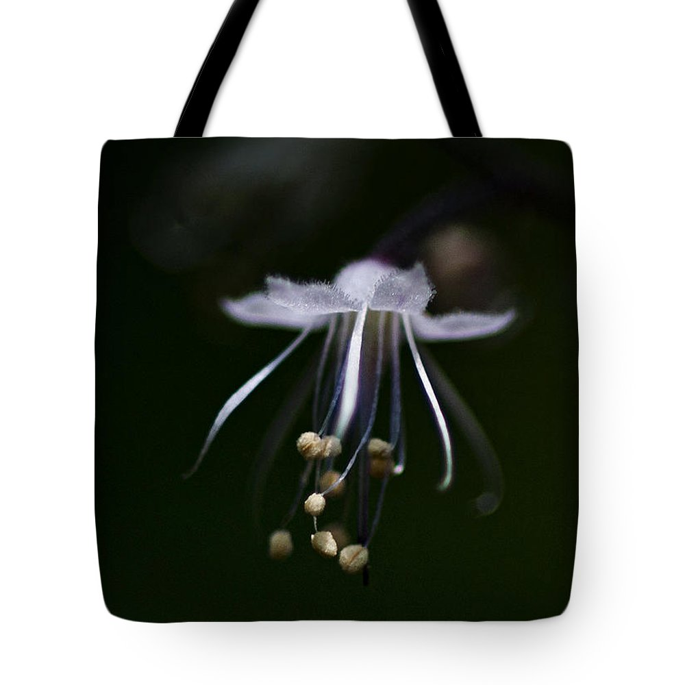 Flower Tote Bag featuring the photograph Dance In The Forest by Betty Depee