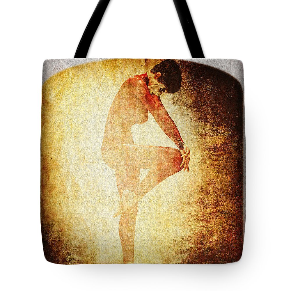 Vintage Tote Bag featuring the photograph Dance Of The Fool by Bob Orsillo