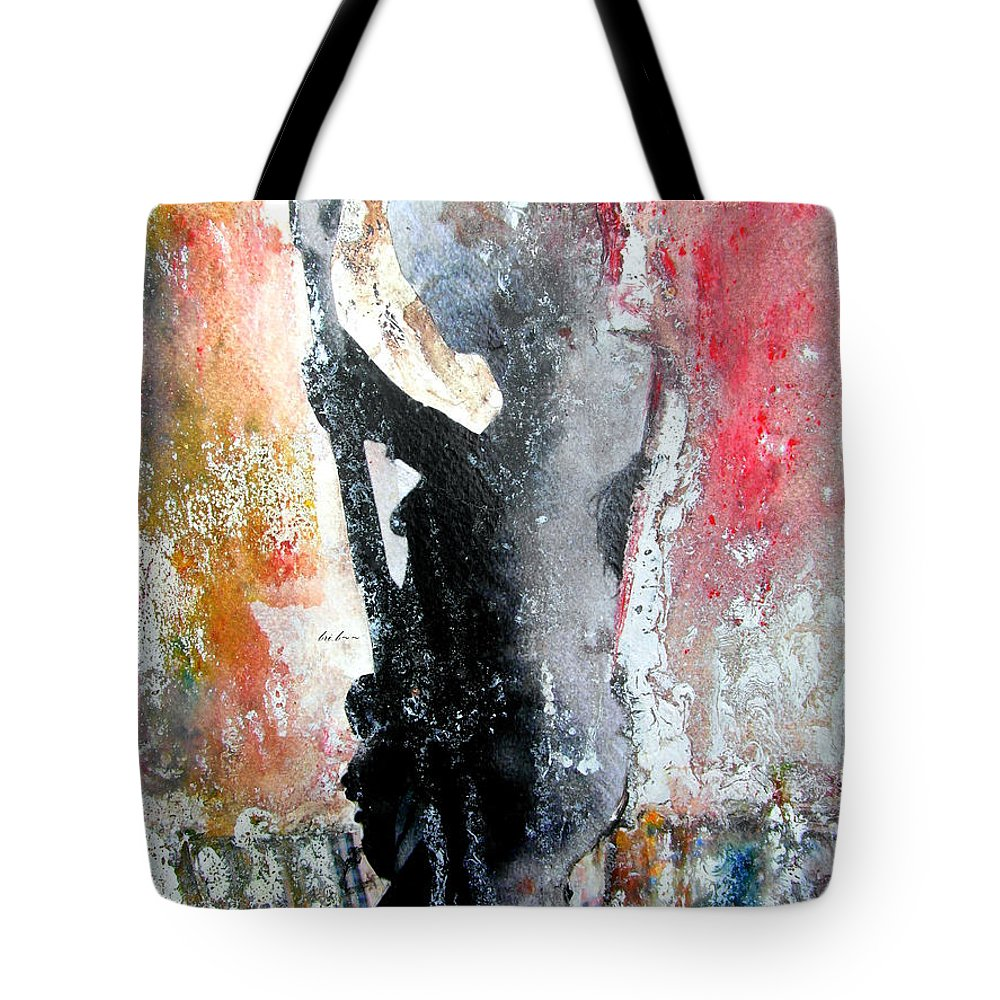 Thin Lizzy Paintings Tote Bag featuring the painting Dancing In The Moonlight by Bri Buckley