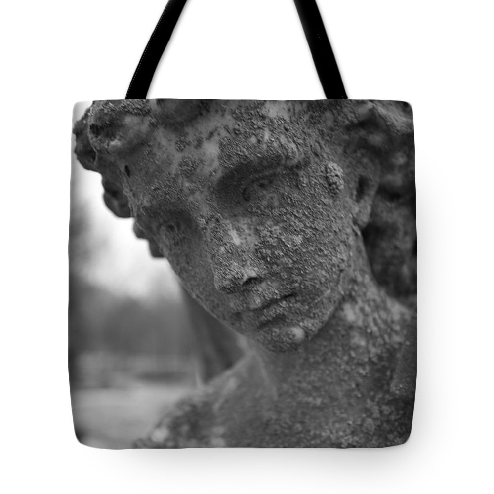 Dark Tote Bag featuring the photograph Dark Lady by Allan Morrison