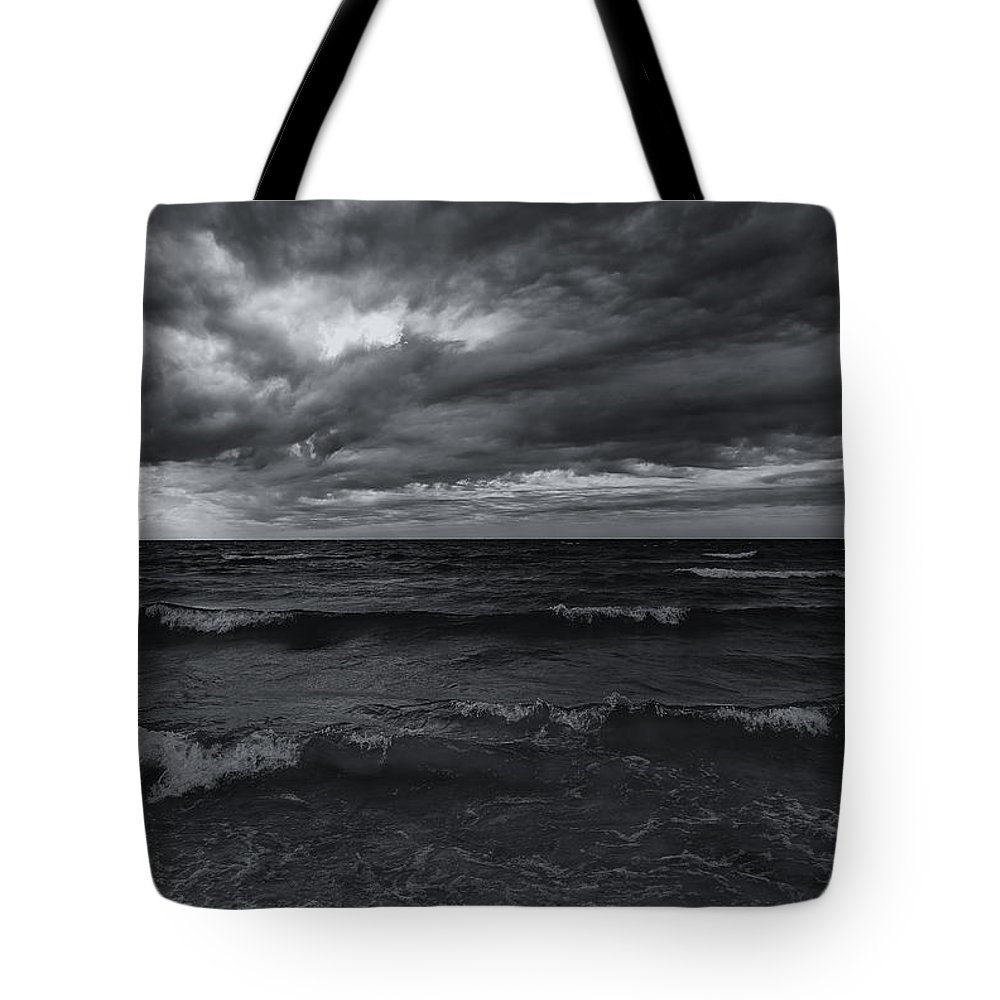 Dark Times Tote Bag featuring the photograph Dark Times by Rachel Cohen