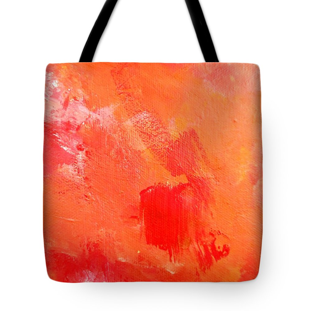 Paintings By Lyle Tote Bag featuring the painting Darkness by Lord Frederick Lyle Morris - Disabled Veteran