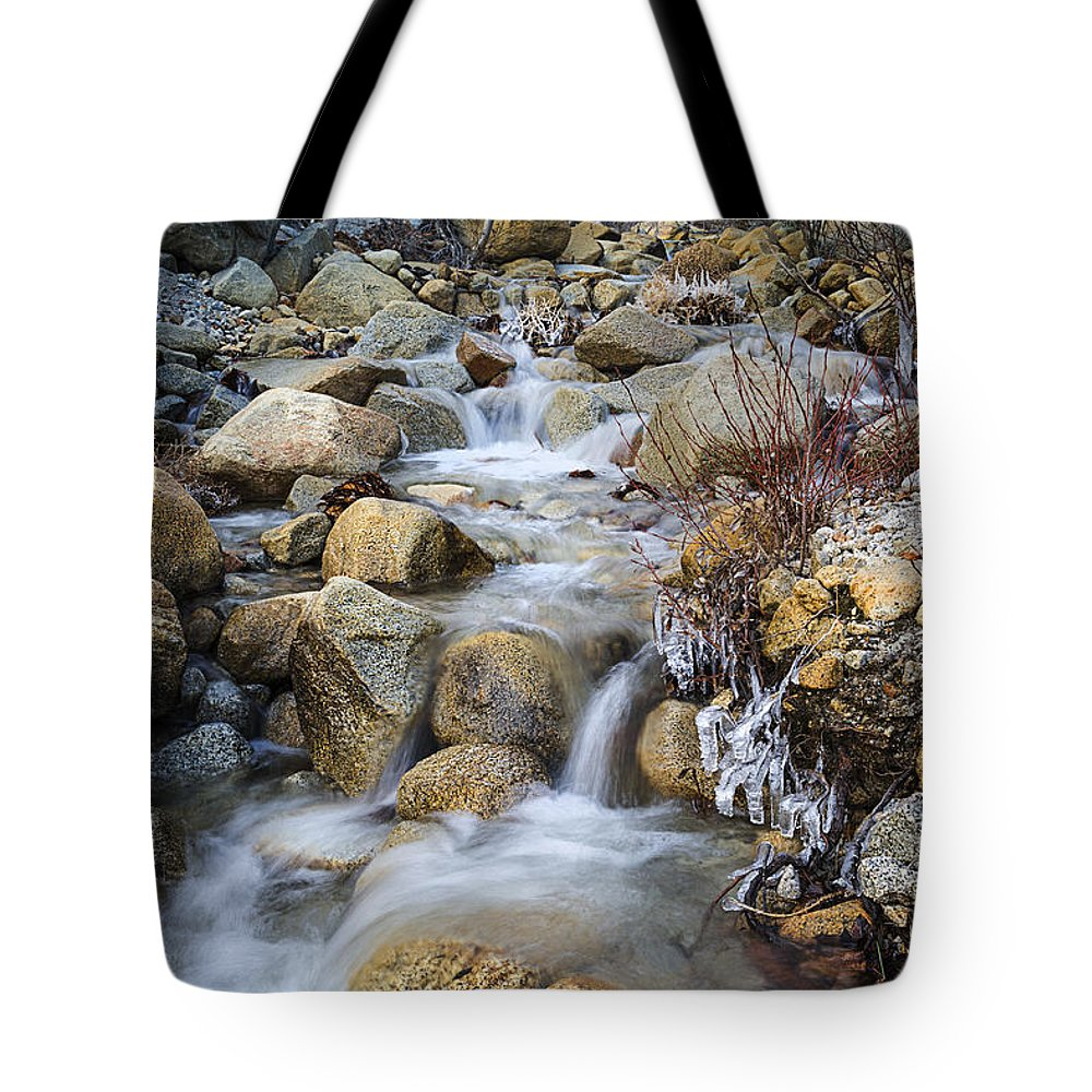 Creek Tote Bag featuring the photograph Davis Creek by Dianne Phelps