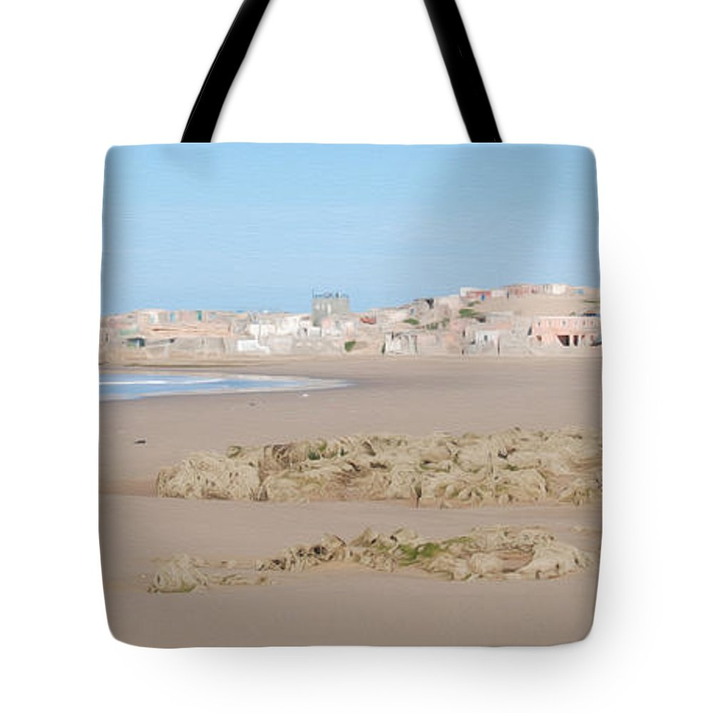 Agadir Tote Bag featuring the photograph Day At The Moroccan Fishing Village by Tracy Winter