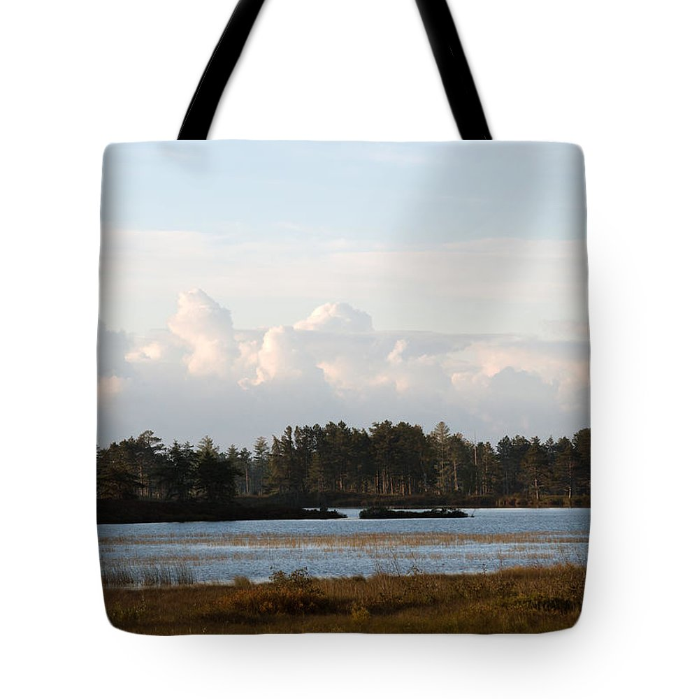 Wetland Tote Bag featuring the photograph Day Of Beauty by Linda Kerkau