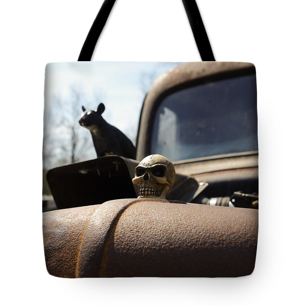 Rat Tote Bag featuring the photograph Day Of The Rat by Nick Kirby