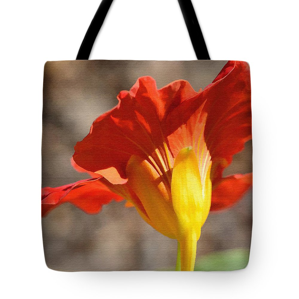 Day Lily Tote Bag featuring the photograph Day Time by Larry Bishop