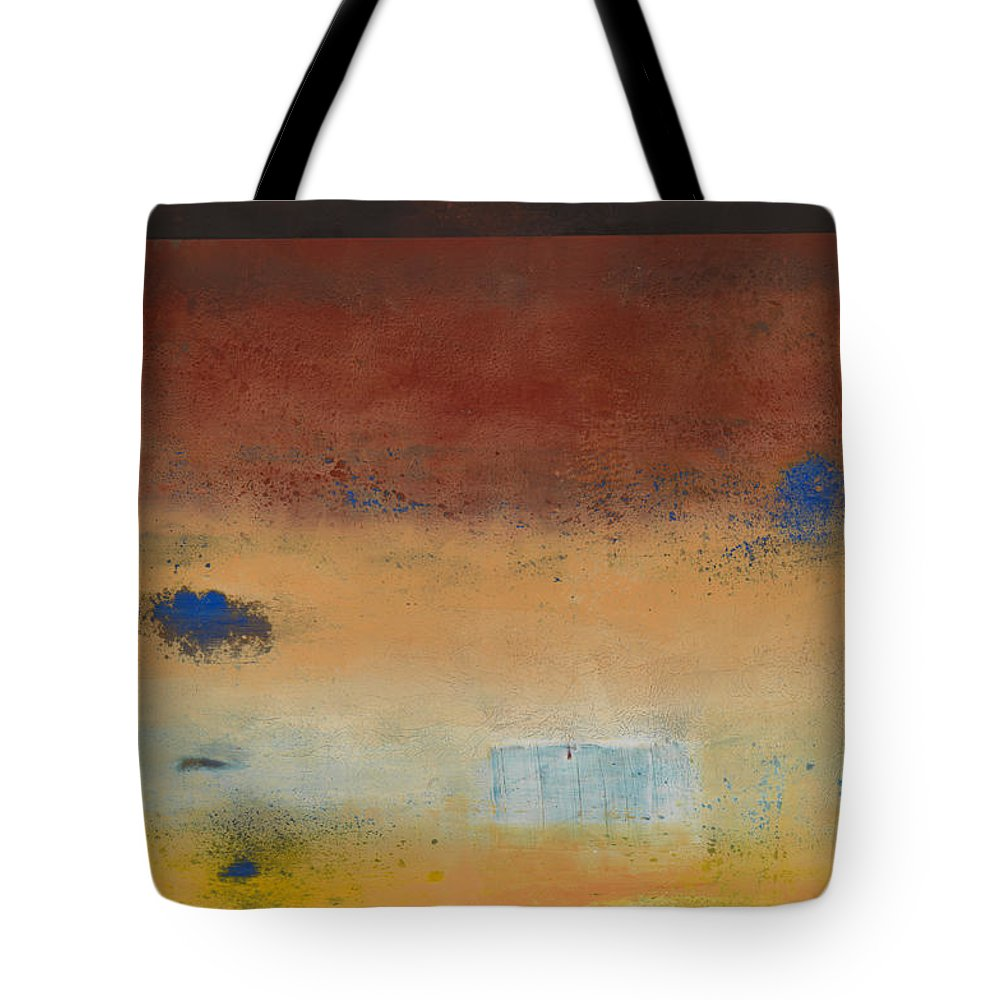 Abstract Tote Bag featuring the painting Daydream Believer by Mark Witzling
