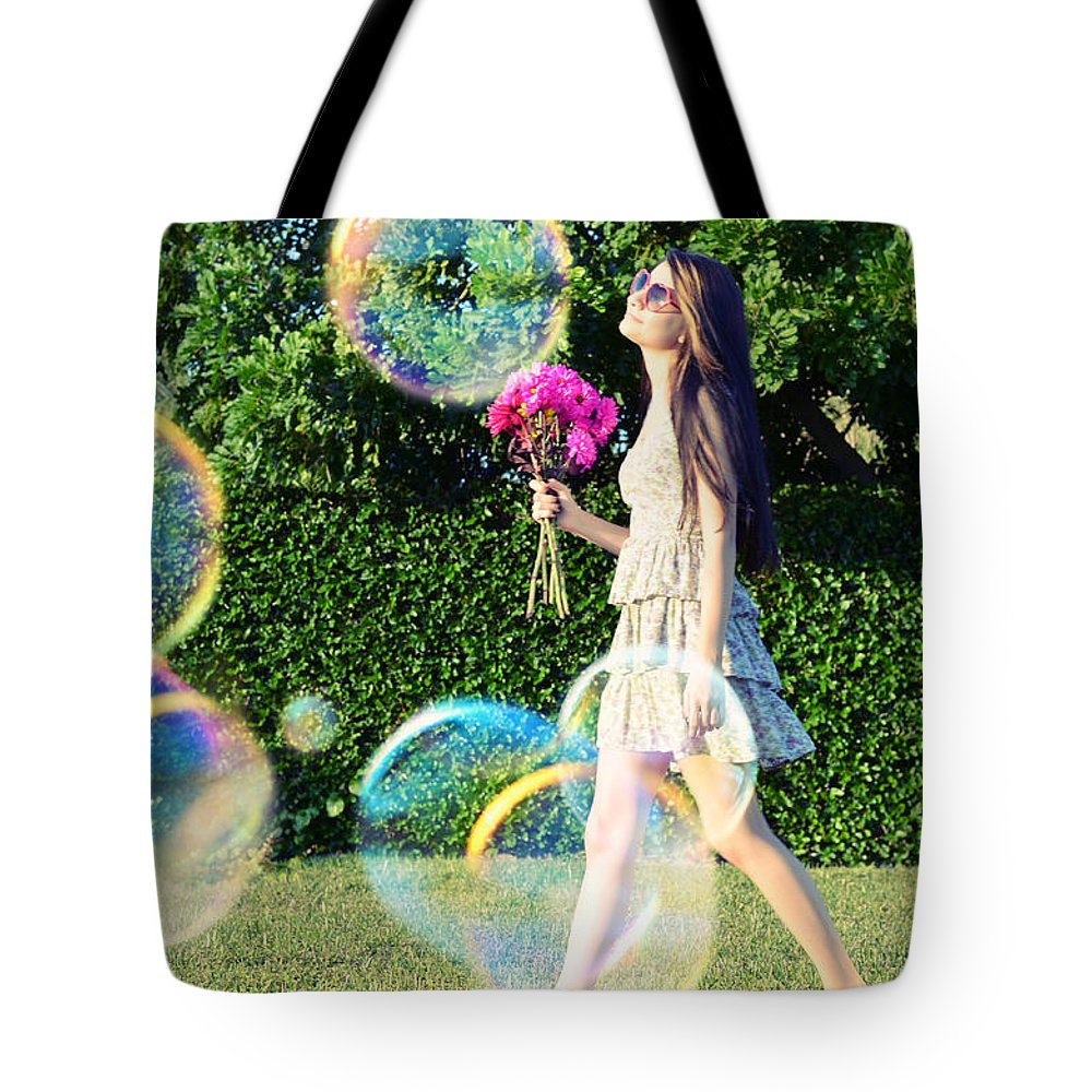 Whimsical Tote Bag featuring the photograph Days Like These by Laura Fasulo