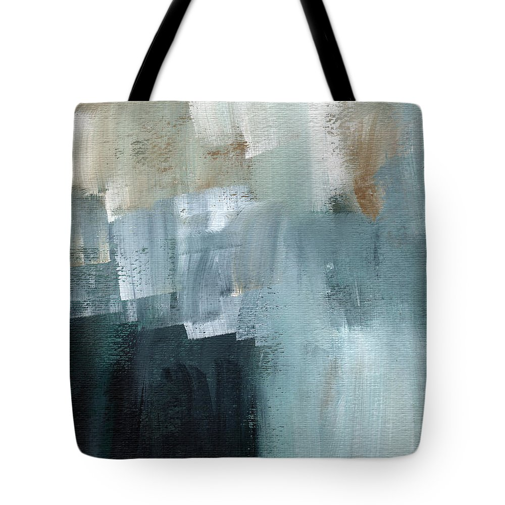 Abstract Art Tote Bag featuring the painting Days Like This - Abstract Painting by Linda Woods