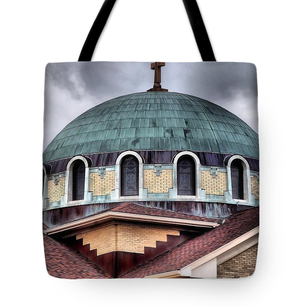 Dayton Mosque Tote Bag featuring the photograph Dayton Mosque by Dan Sproul