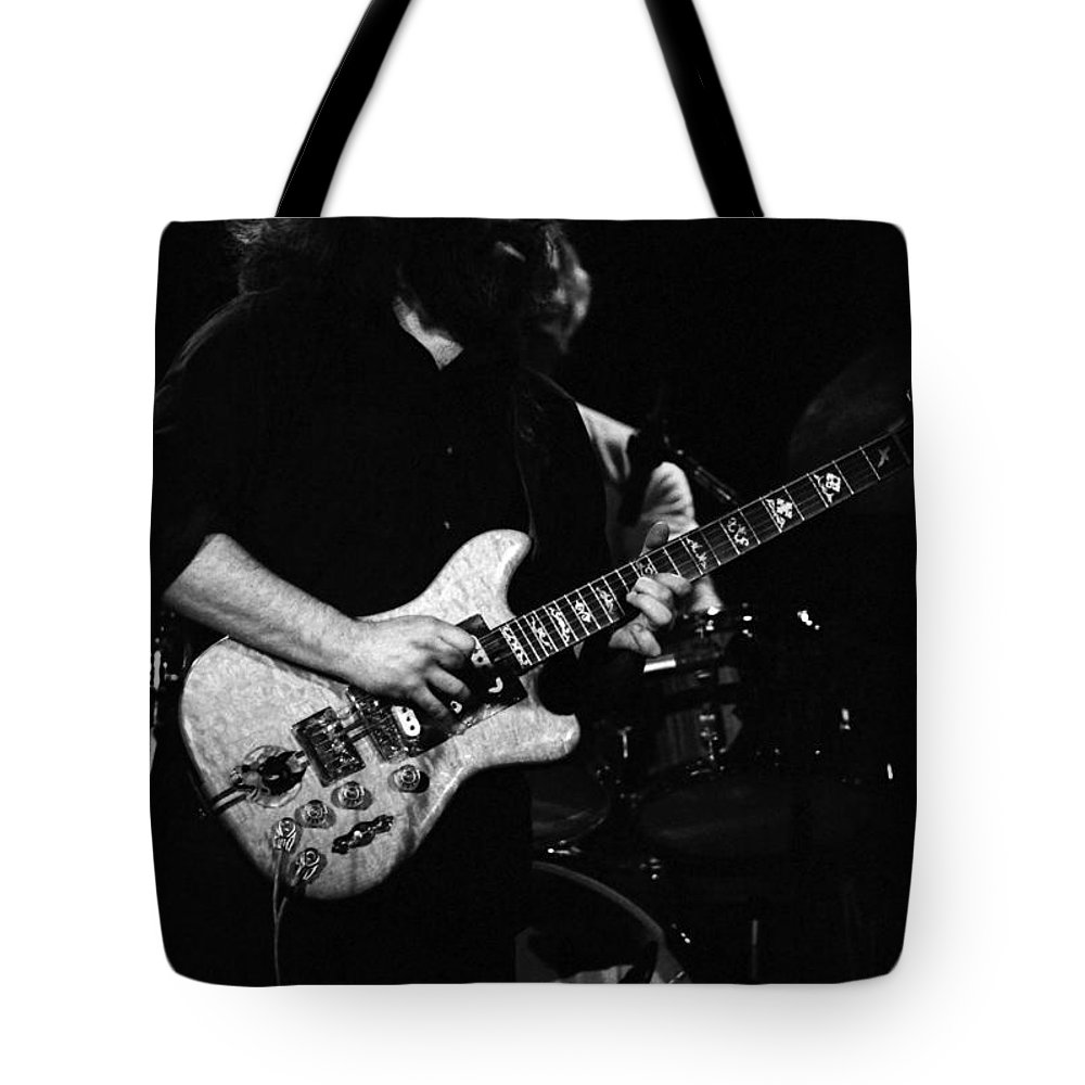 Grateful Dead Tote Bag featuring the photograph Dead #13 by Ben Upham