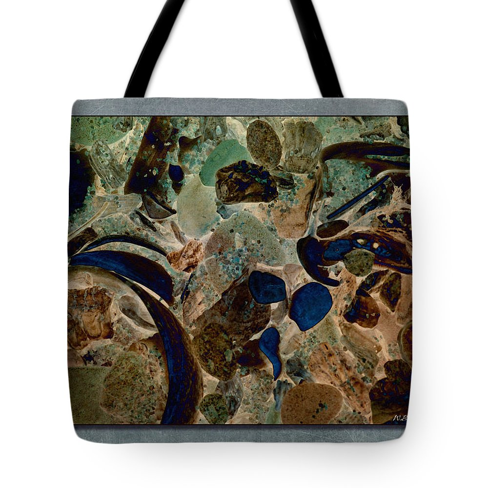 Abstract Tote Bag featuring the photograph Debris 8 by WB Johnston