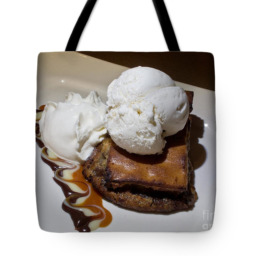 Food Tote Bag featuring the photograph Decadent Delight by Arlene Carmel