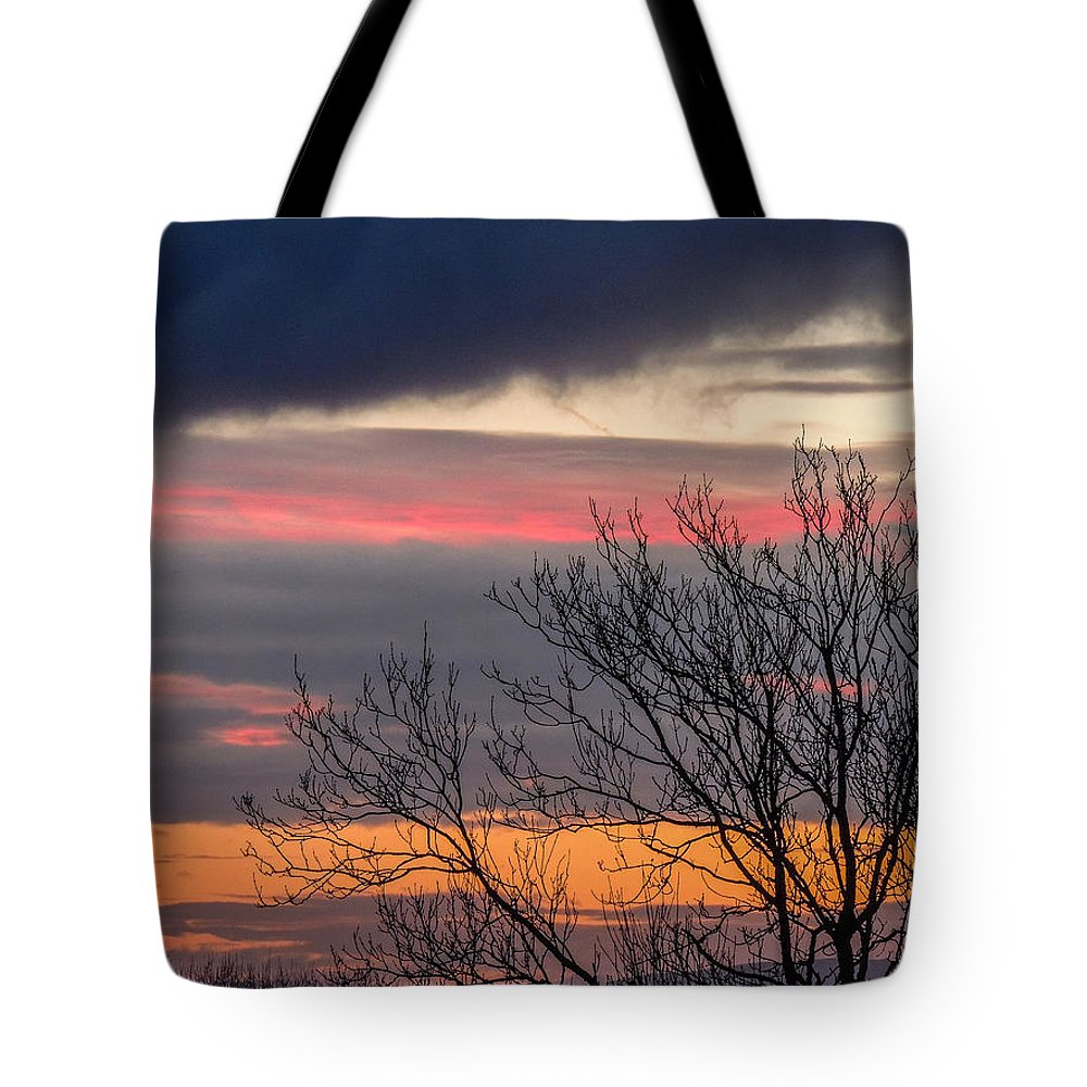 Celtic Skies Tote Bag featuring the photograph December County Clare Sunrise by James Truett