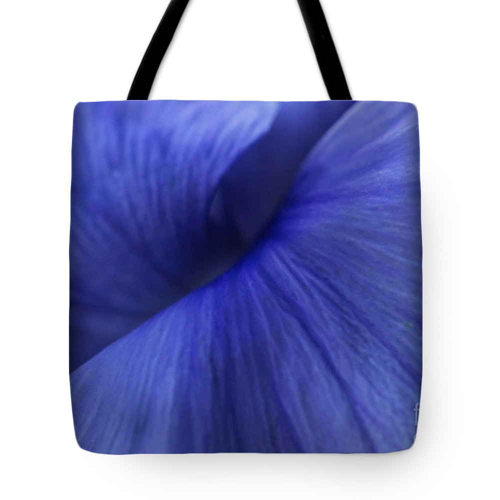 Pansy Tote Bag featuring the photograph Deconstruction Of A Flower by Andrea Kollo