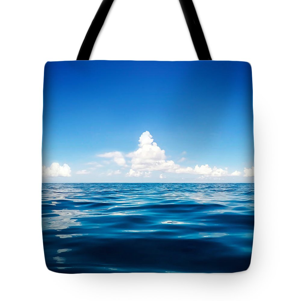 Scenery Tote Bag featuring the photograph Deep Blue by Nicklas Gustafsson