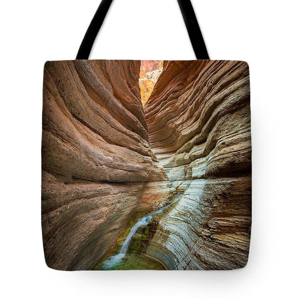 America Tote Bag featuring the photograph Deep Inside by Inge Johnsson
