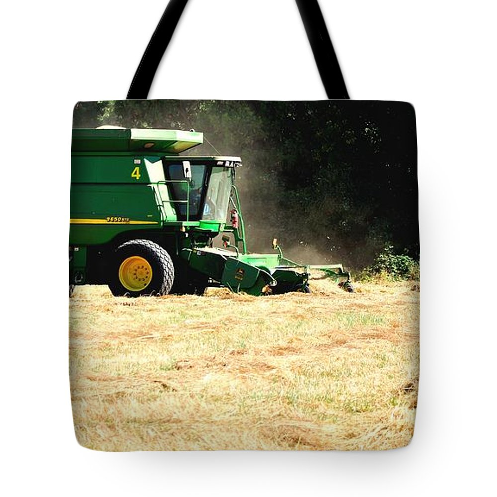 Ag Tote Bag featuring the photograph Deere 9650 Sts 16006 by Jerry Sodorff