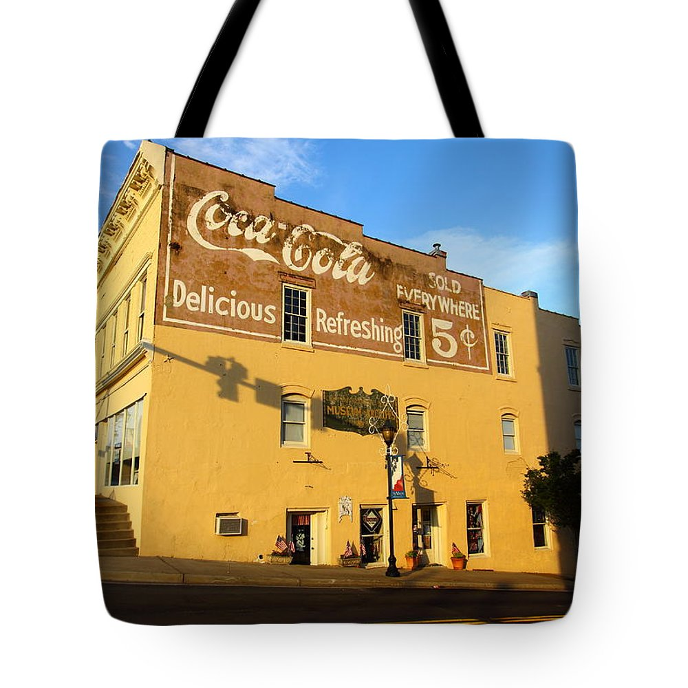Coca-cola Tote Bag featuring the photograph Delicious Refreshing by Joseph C Hinson Photography