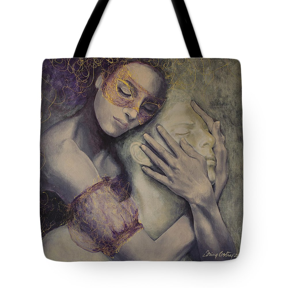 Embrace Paintings Tote Bags
