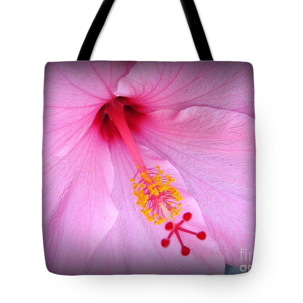 Demure Tote Bag featuring the photograph Demure by Priscilla Richardson