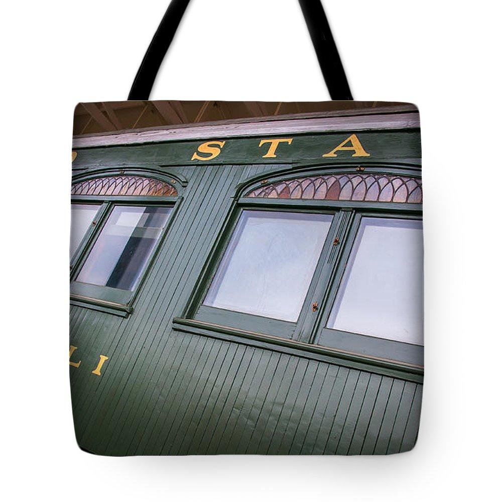 Denali Tote Bag featuring the photograph Denali Car by William Krumpelman