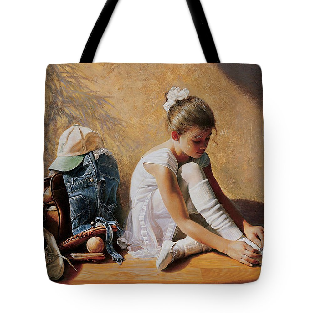 Brunette Tote Bags