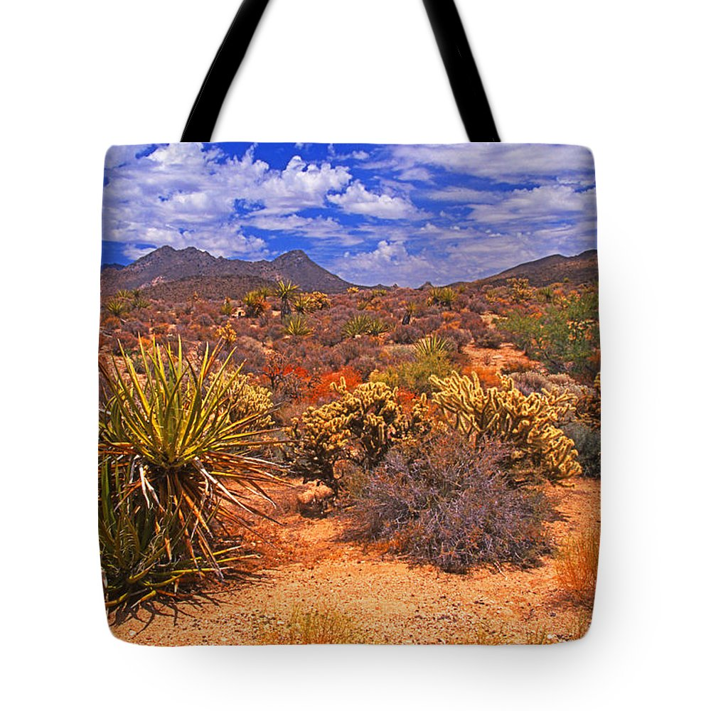 California Tote Bag featuring the photograph Desert Beauty by Rich Walter