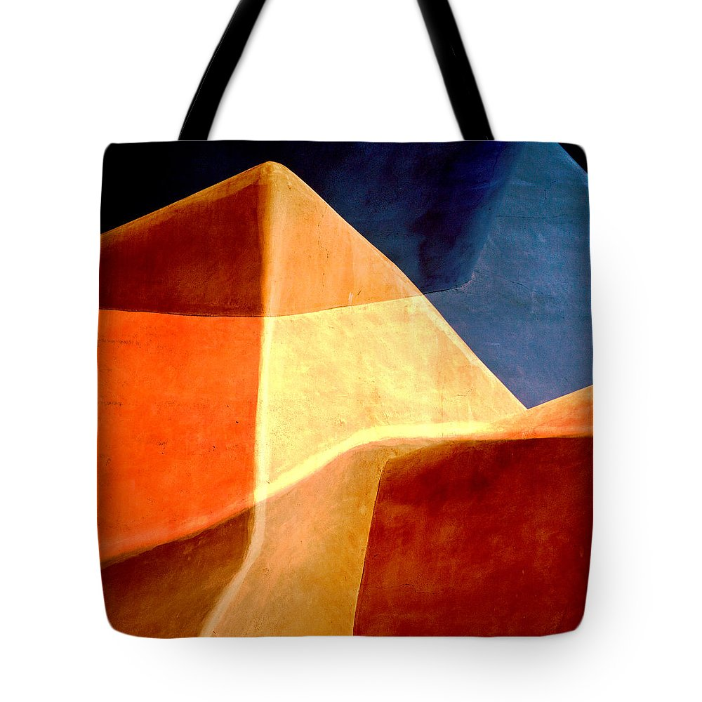 Sand Dunes Tote Bag featuring the photograph Desert Dunes Number 1 by Carol Leigh