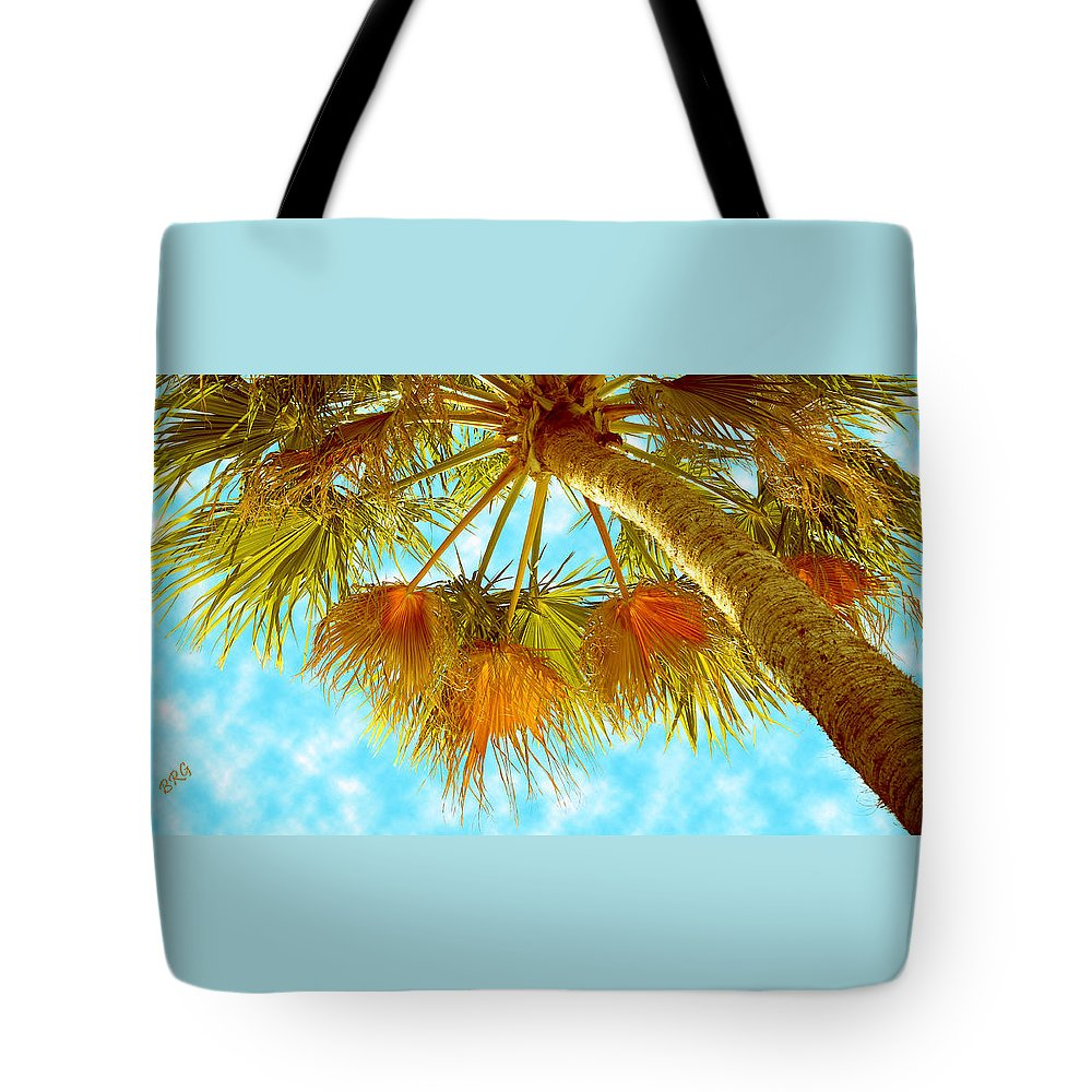 Palm Tree Tote Bag featuring the photograph Desert Palm by Ben and Raisa Gertsberg