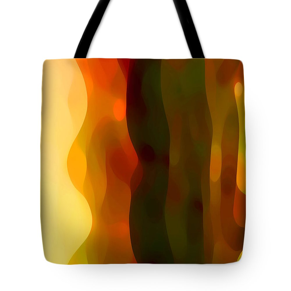 Bold Tote Bag featuring the painting Desert Pattern 1 by Amy Vangsgard