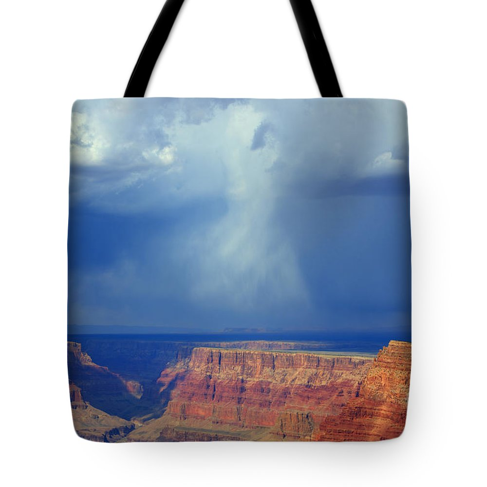 Grand Canyon Tote Bag featuring the photograph Desert View Grand Canyon by Bob Christopher